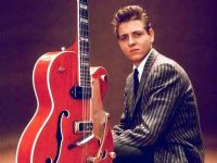 Eddie Cochran - Gretsch G6120 Signature Hollow Body - Miniature Guitar Replica